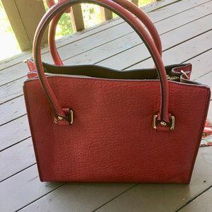 Dkny Bags - DKNY purse, dark pink, used